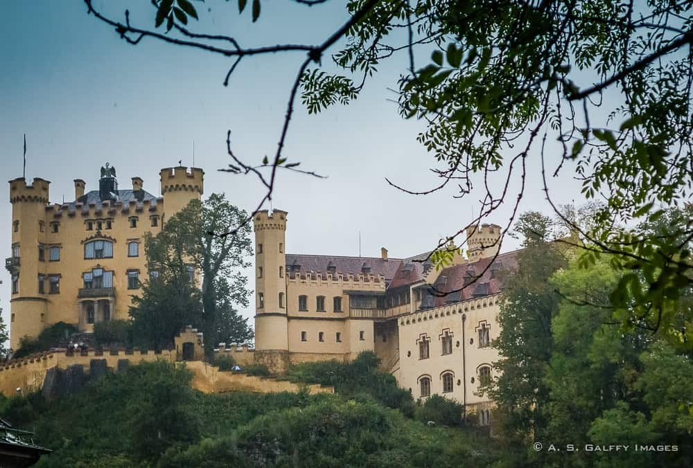The Weekly Postcard: Hohenschwangau Castle