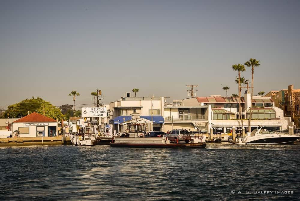 The Weekly Postcard: Balboa Island, Newport Beach, California