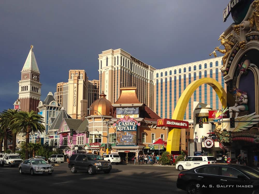 Las Vegas Boulevard - first time in Las Vegas