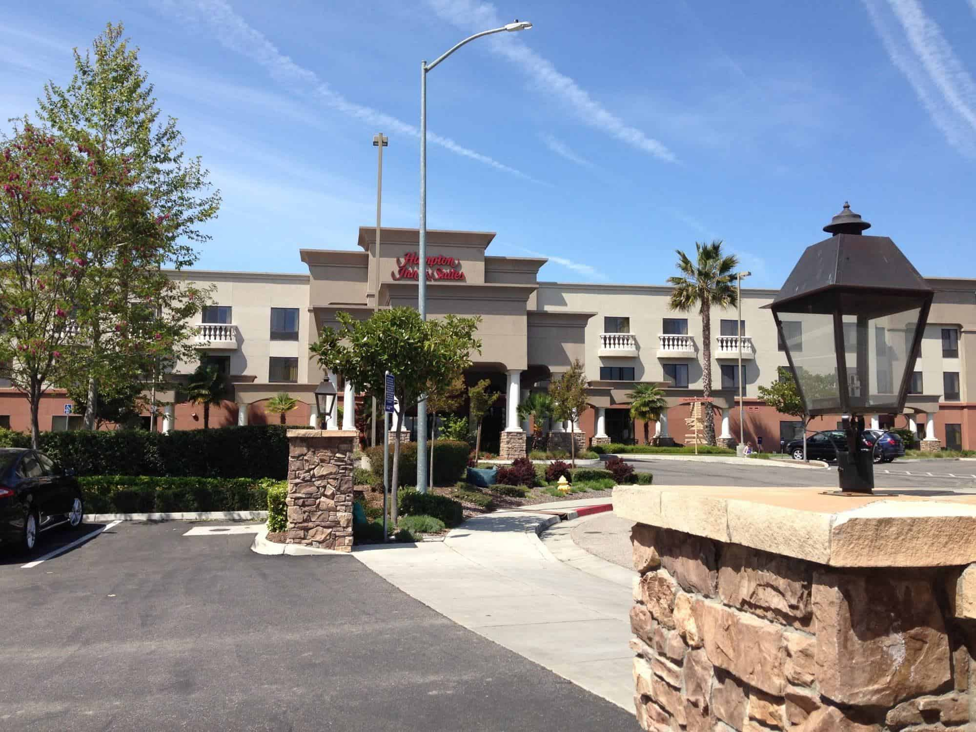 Paso Robles Hampton Inn – not Your Average Hilton Property
