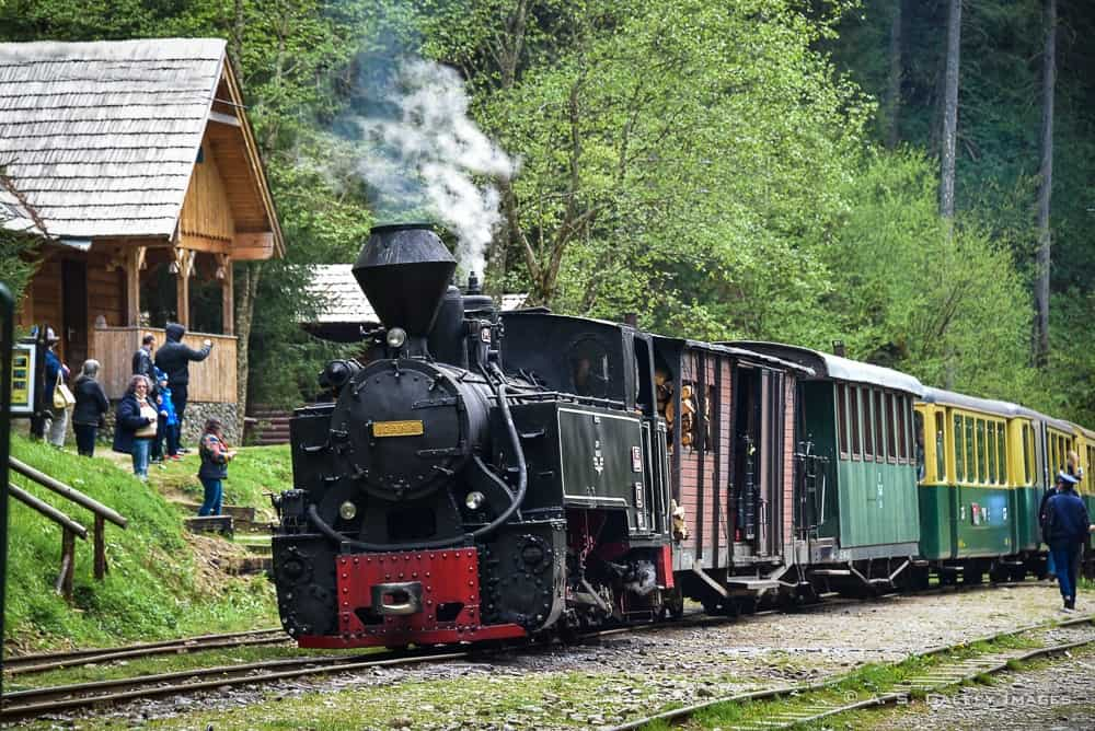Aboard the Mocanita – the Steam Engine Train of Yesteryears