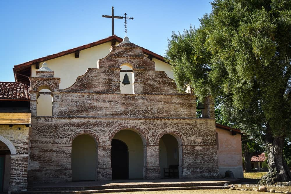 Visiting Mission San Antonio de Padua in California