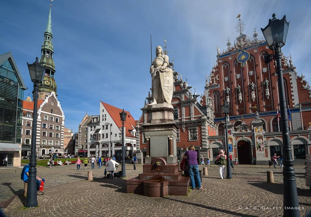 Riga's town Hall Square