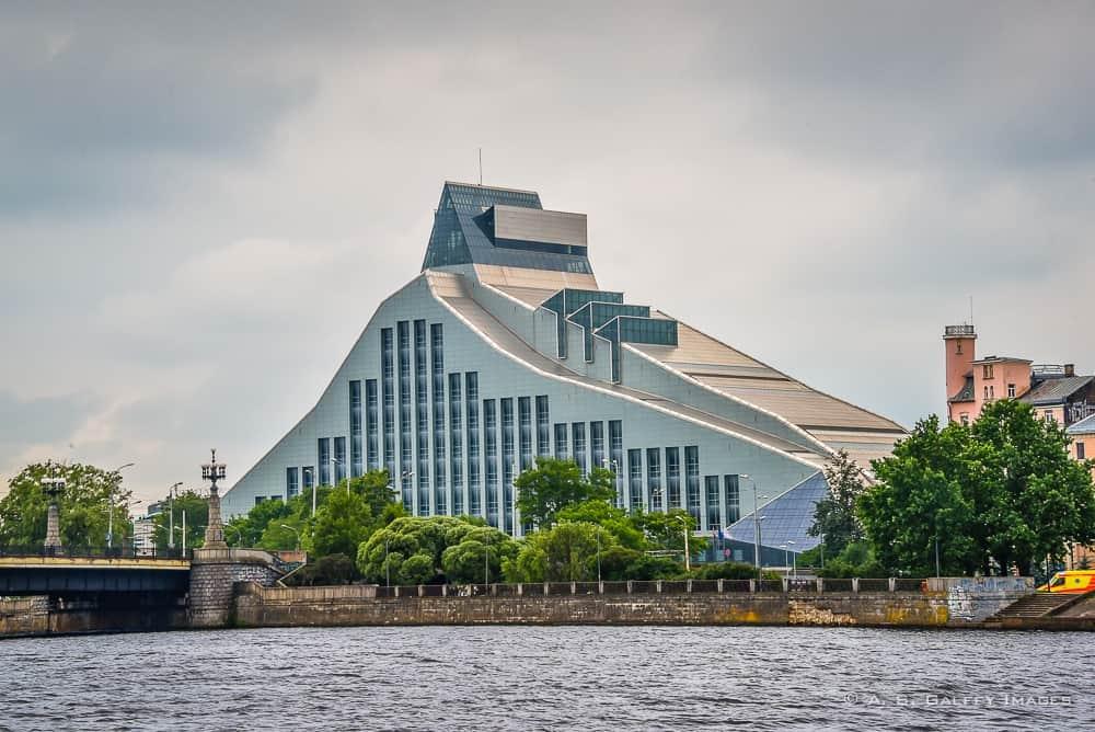 Modern architecture in Riga