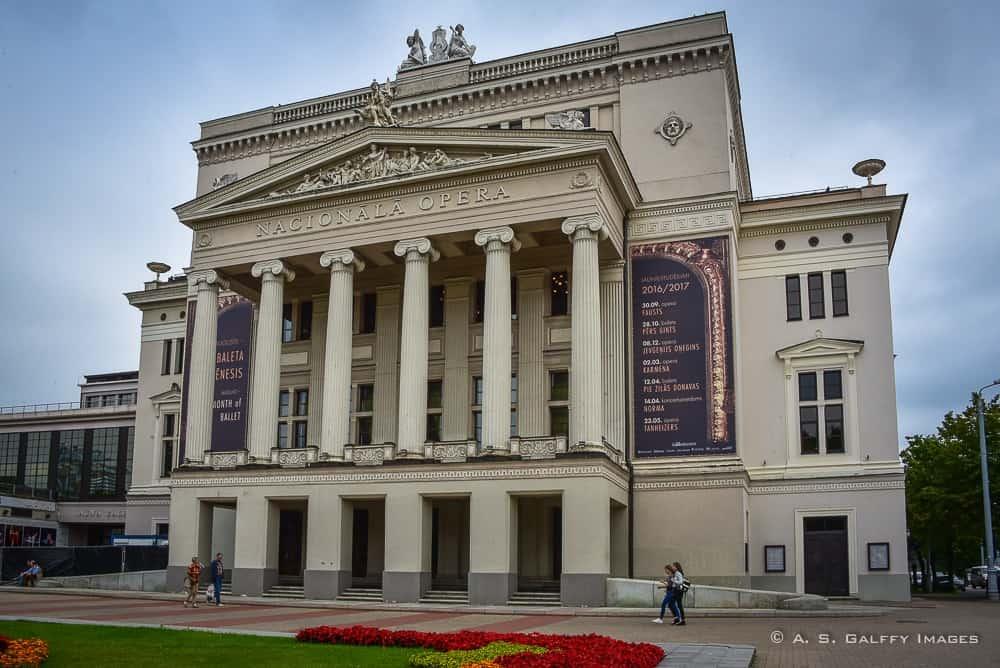 Opera House - Riga's Architecture