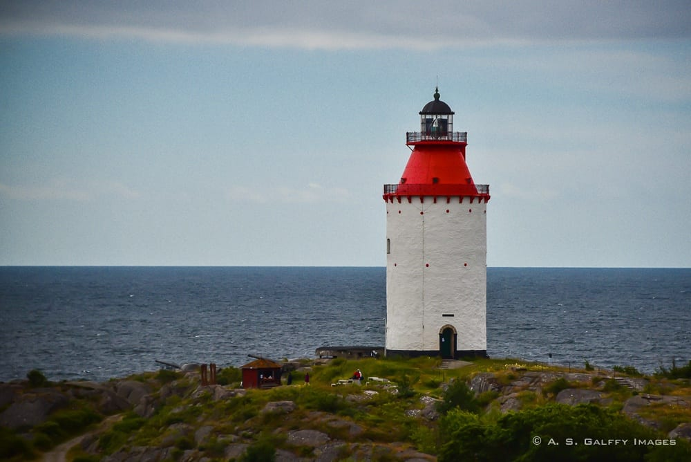 the oldest lighthouse in Sweden