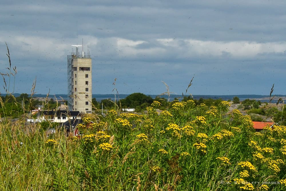 view of the Pilot Tower in Landsort