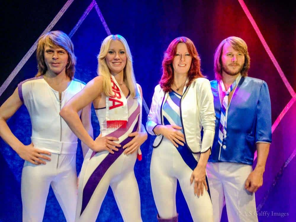ABBA vocal group at the ABBA museum