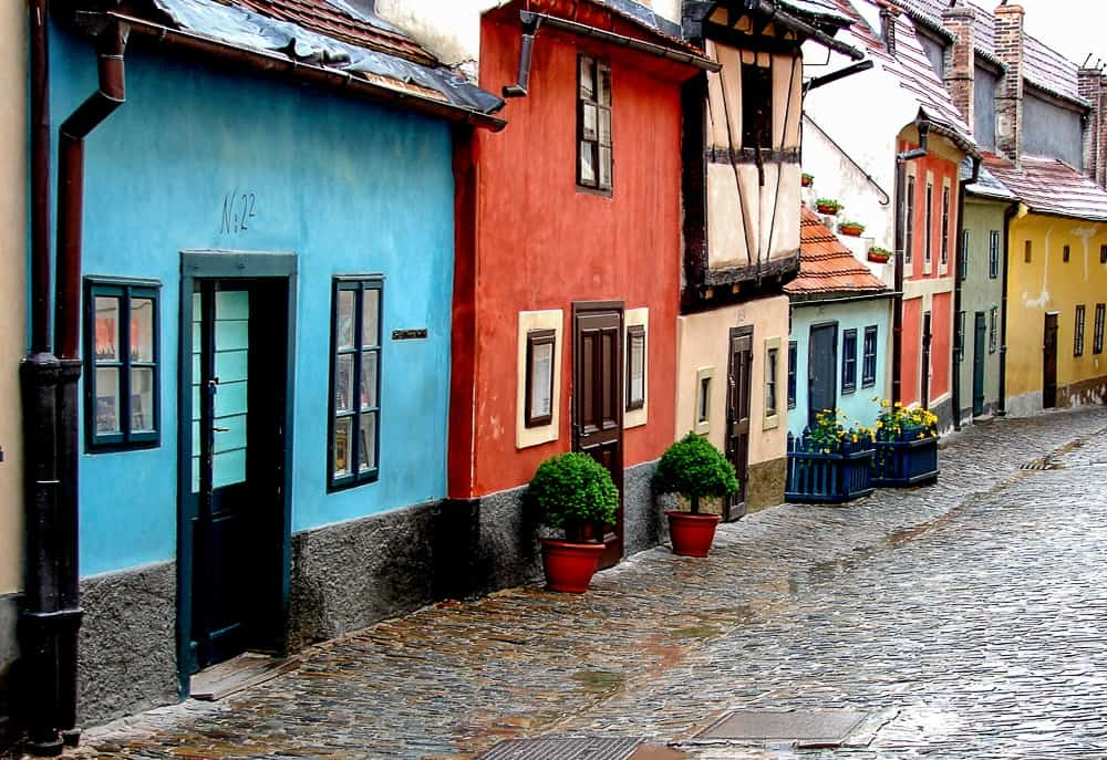Golden Lane, one of the best places to visit in Prague