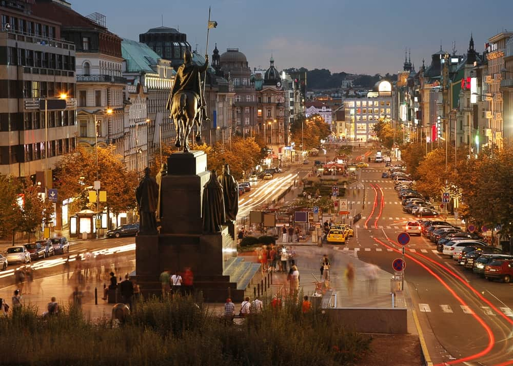 Wenceslas square i- Best things to do in Prague