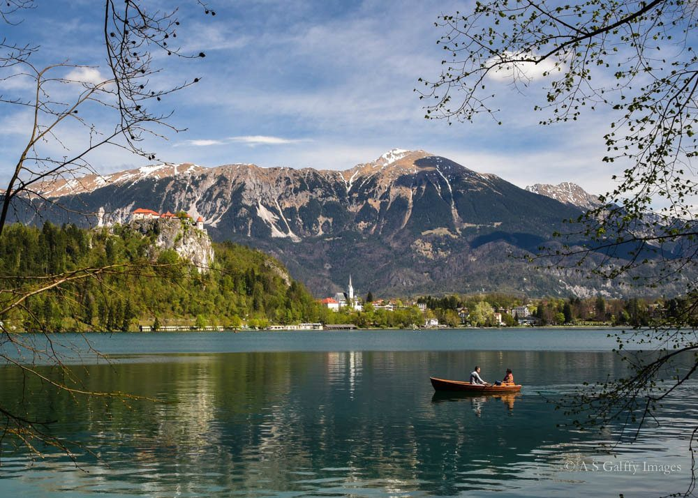 Lake Bled, travelling the Balkans road trip itinerary