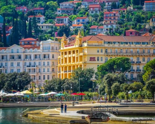 Strolling Lungomare From Opatija To Volosko – A Walk to Remember