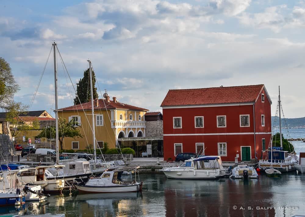 Old Town Zadar, one of the most beautiful places in Croatia