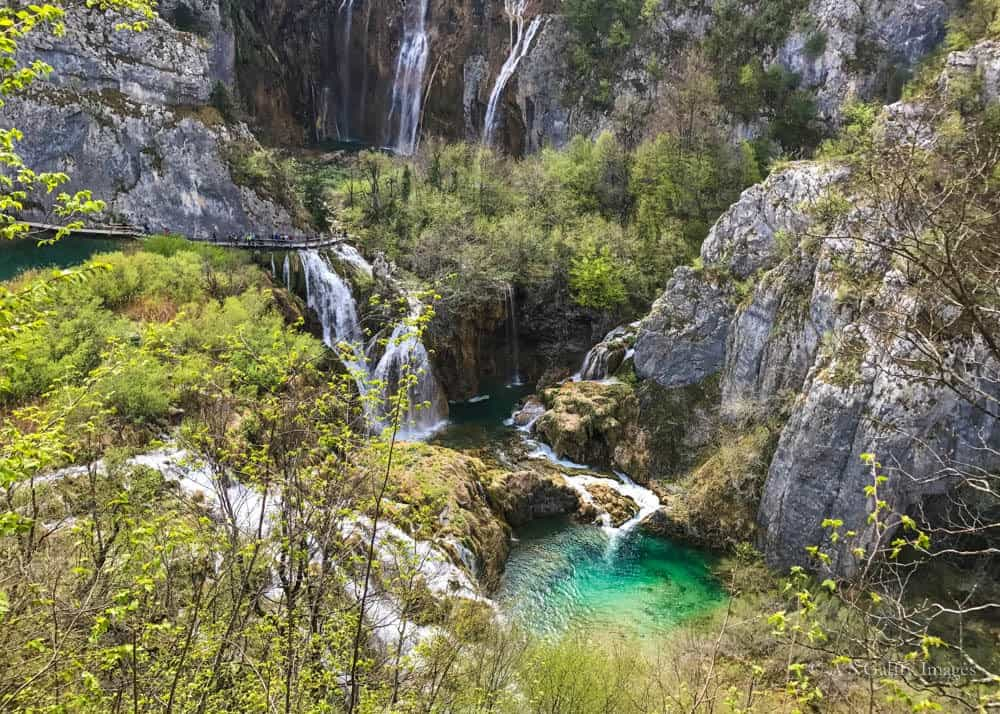 Day trips from Split: Plitvice Lakes