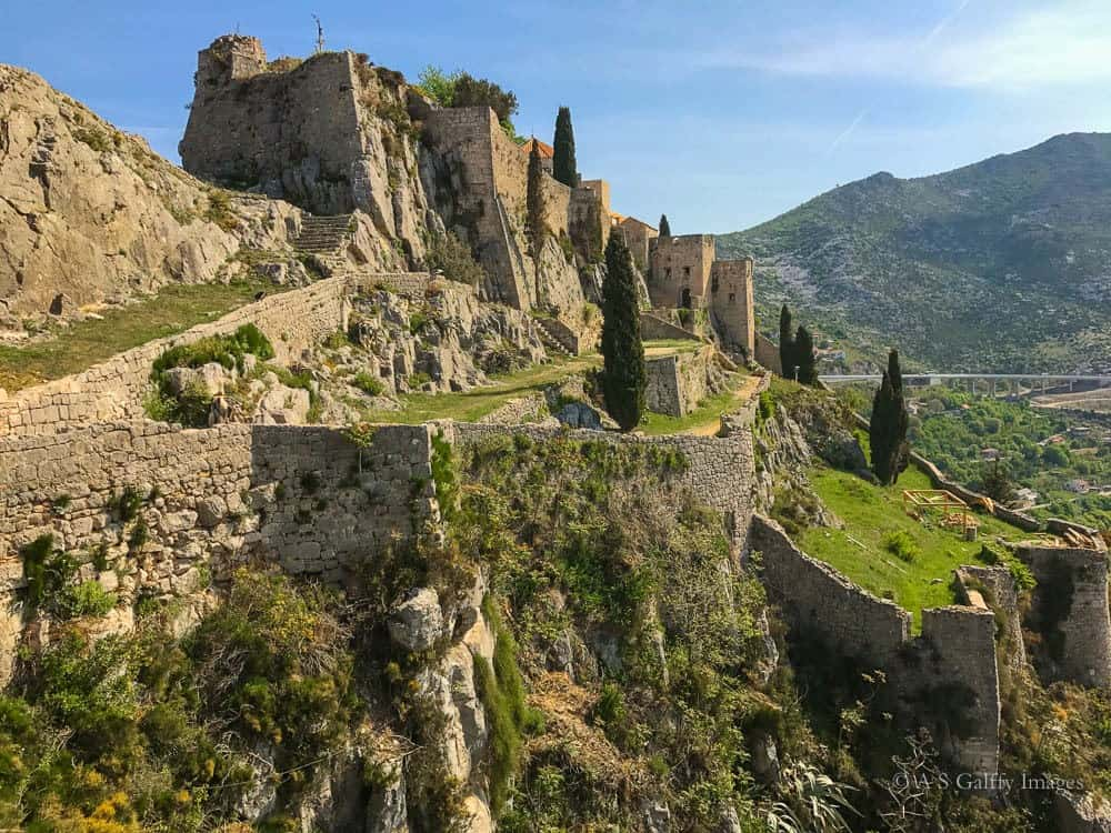 Day trips from Split: Klis Fortress