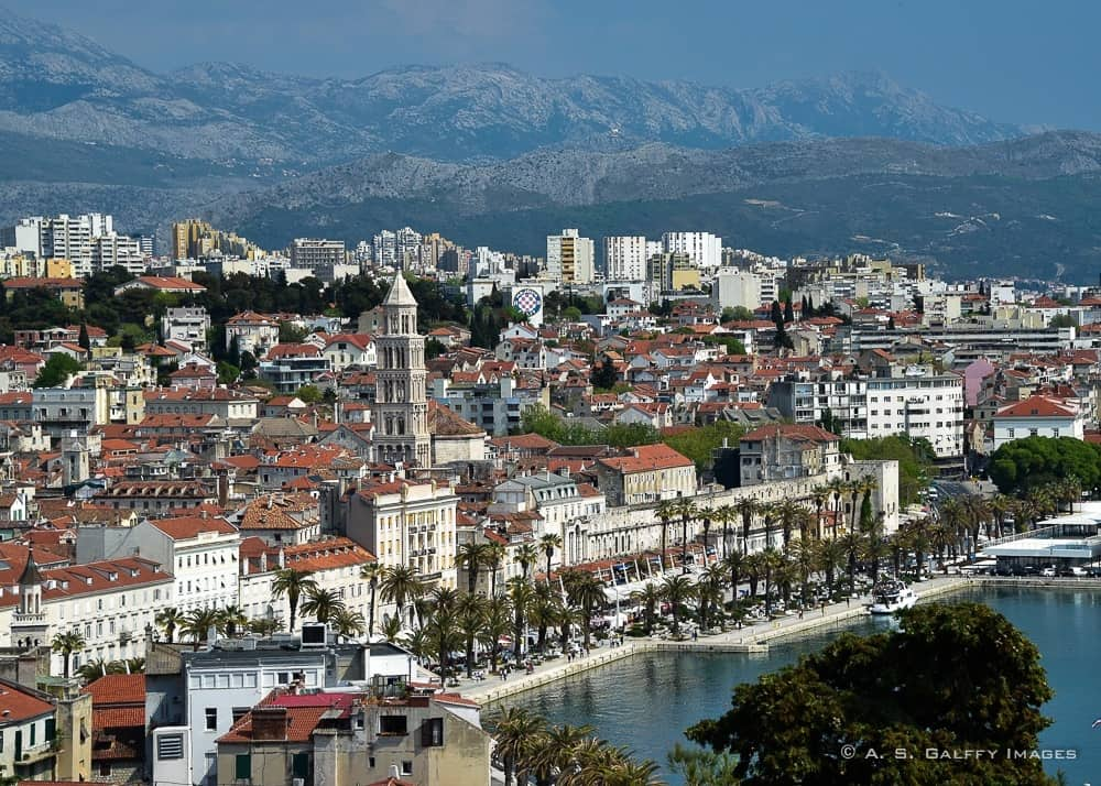 Split, one of the most beautiful places in Croatia