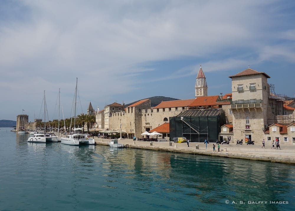 View of the Historic City of Trogir, one of Croatia's Most Beautiful Sites