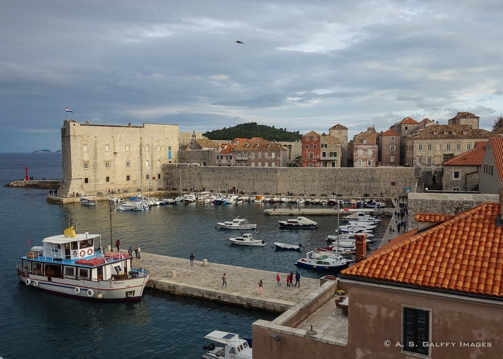 Dubrovnik City Walls,one of the most beautiful places in Croatia