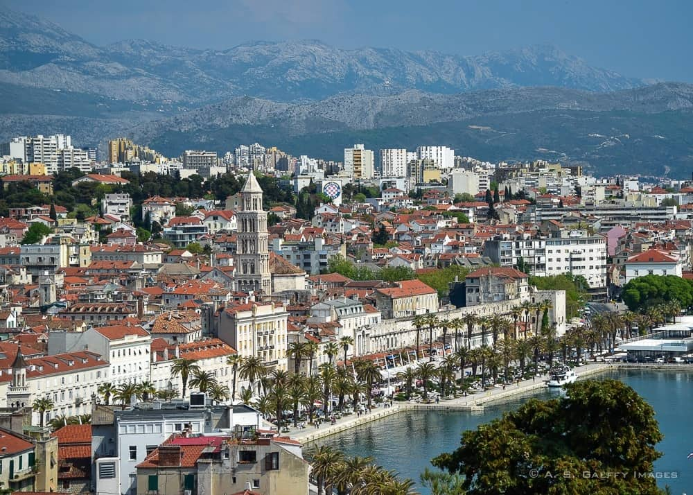 Discovering Split Beyond the Vestiges of Diocletian's Palace