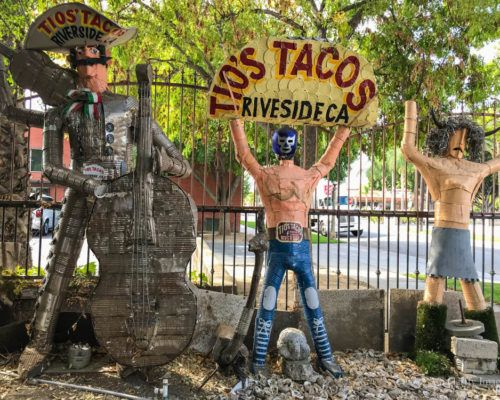 Tio's Tacos Restaurant in Riverside, California – A Monumental Fantasy Made Real