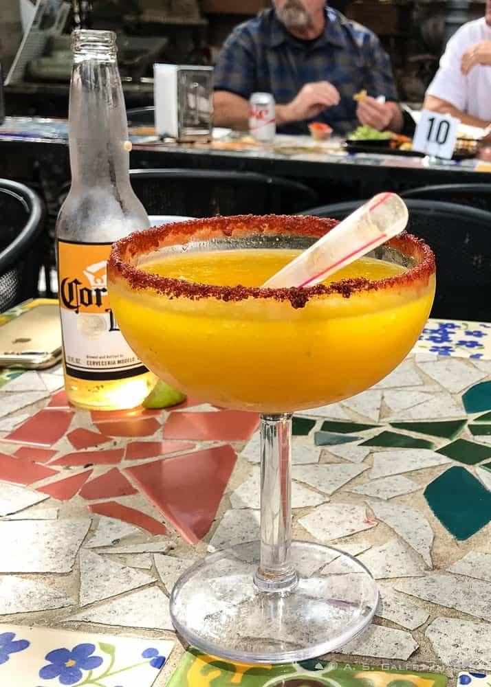 Tio's Tacos margarita