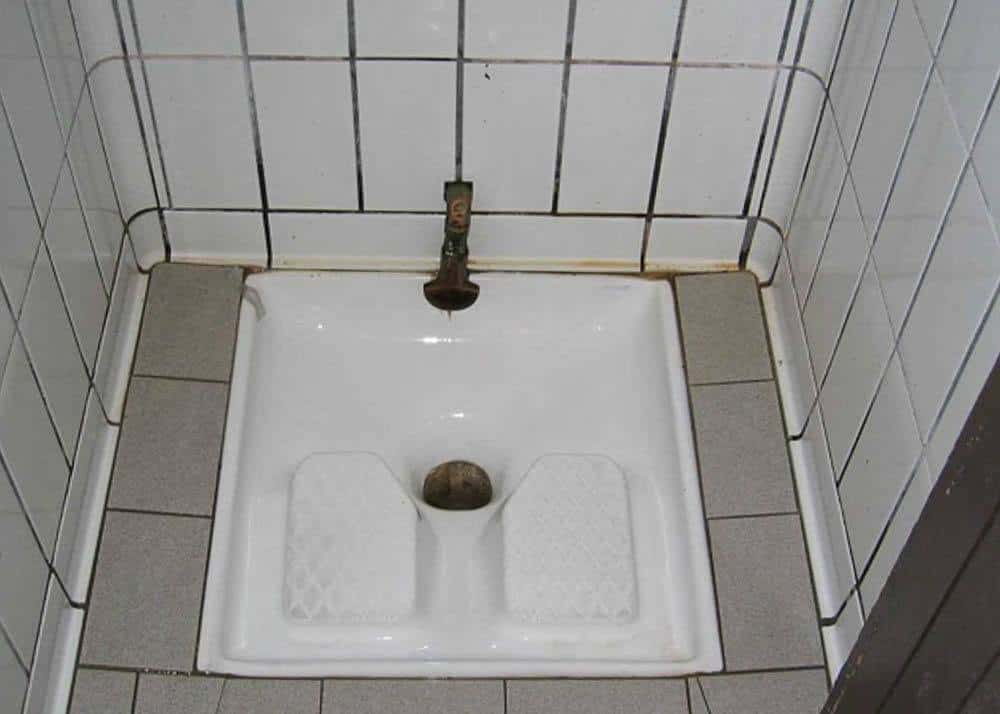Image depicting a Turkish toilet
