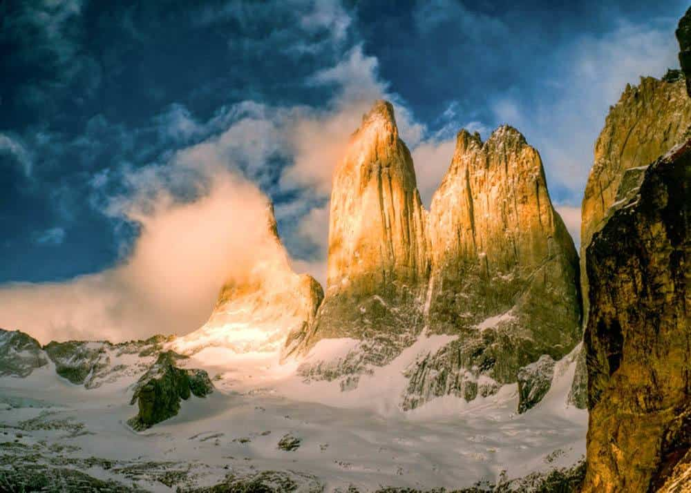 Torres del Paine National Park in Chille
