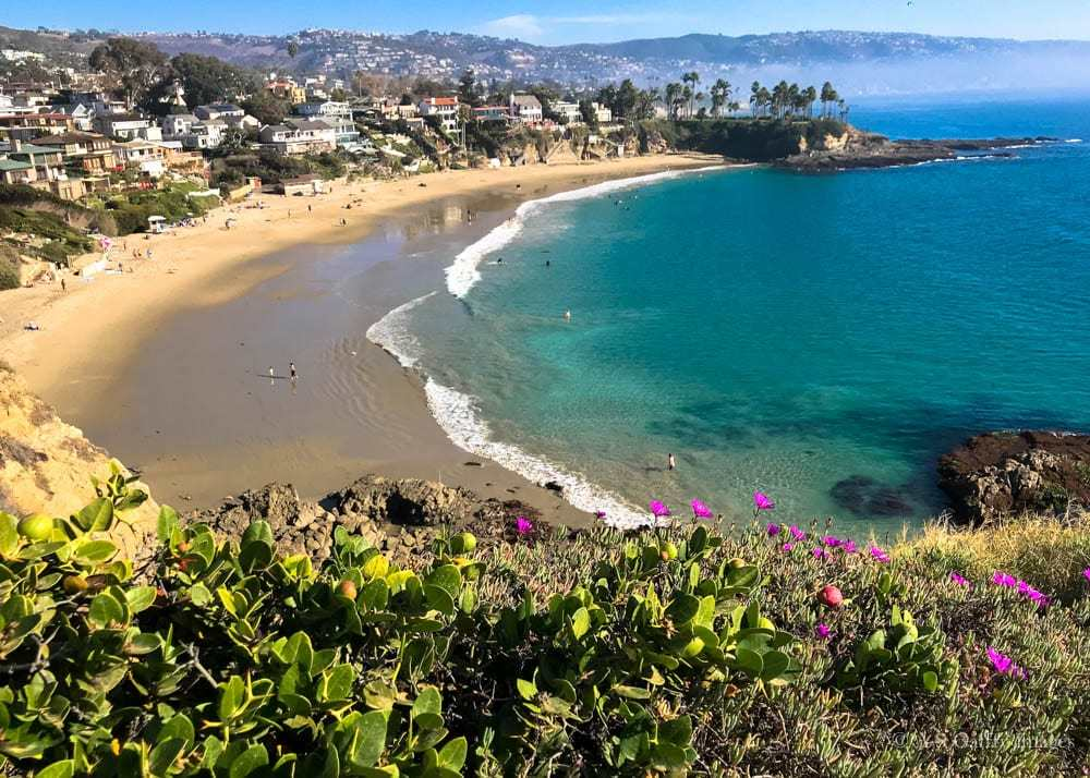 Emerald Bay in Laguna Beach, the best romantic gateway in California