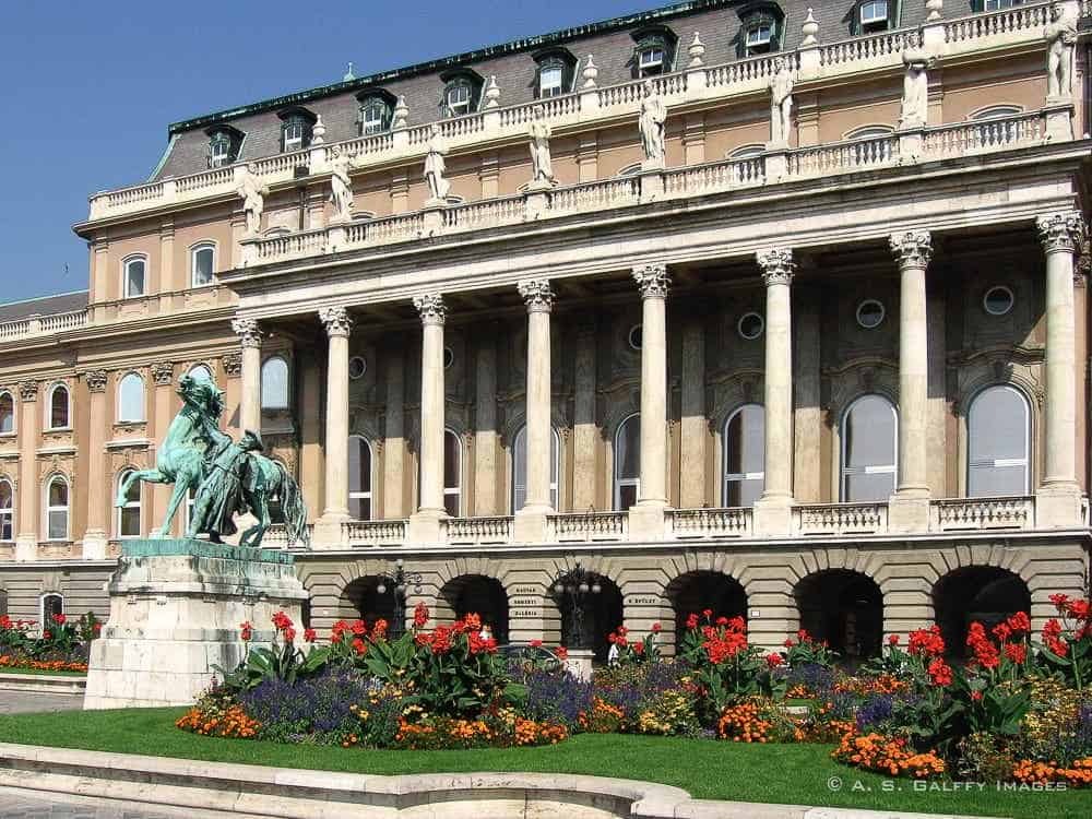 The National Gallery in Budapest