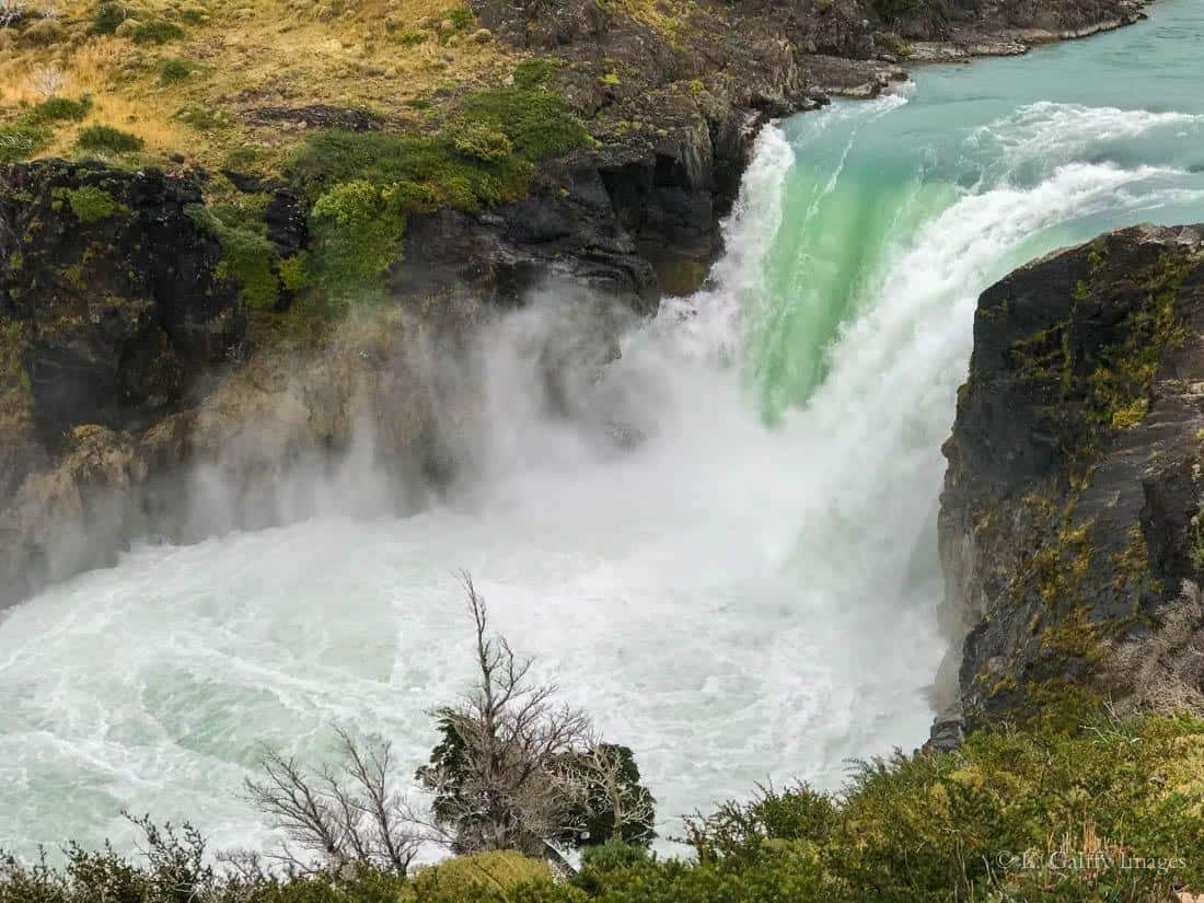View of Salto Grande Waterfall