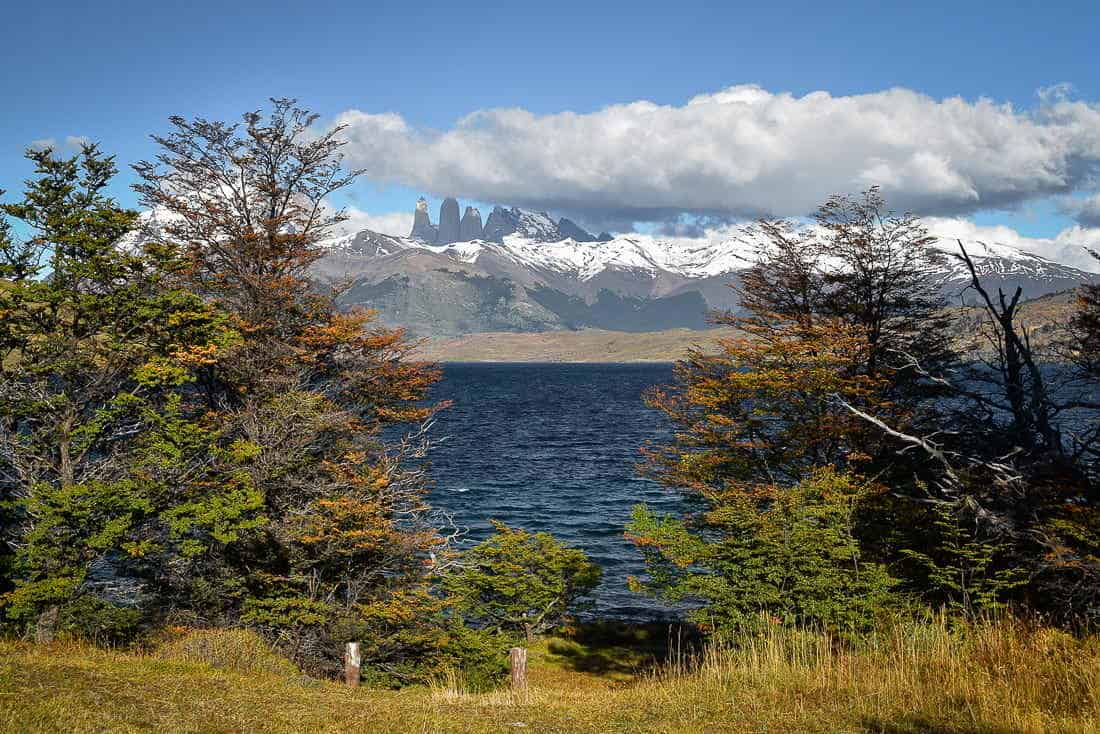 Laguna Azul day hike in Torres del Paine