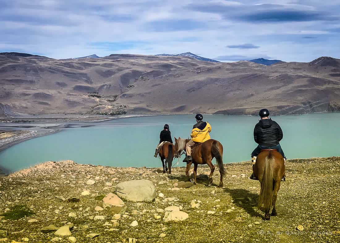 Horseback riding in Torres del Paine