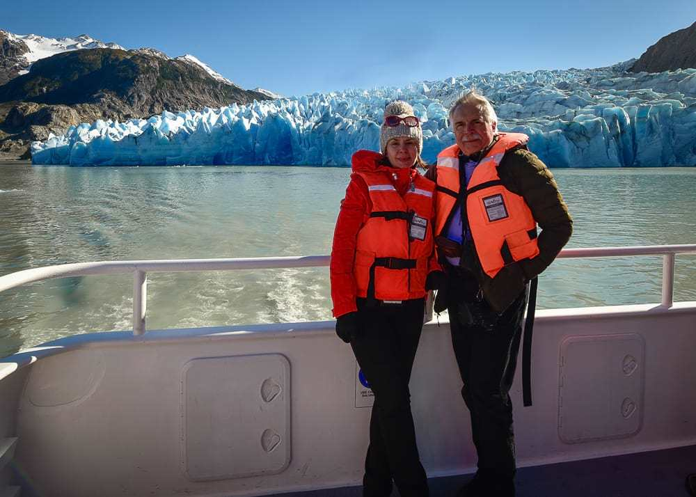 Glacier Grey boat trip