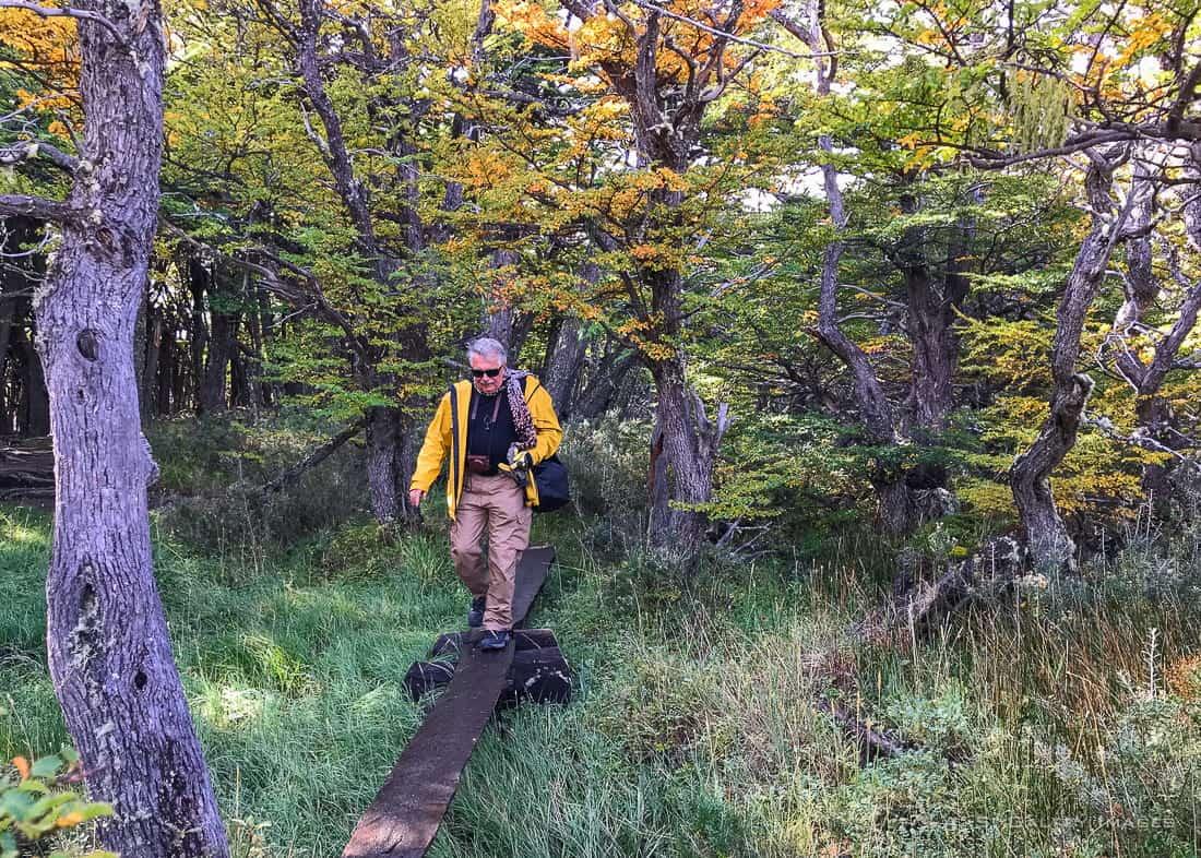 Hiking the FitzRoy trek to Laguna de Los Tres