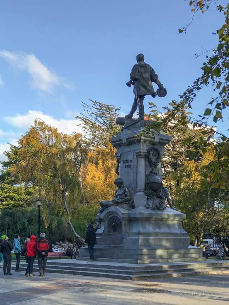 Magellan Memorial in Punta Arenas