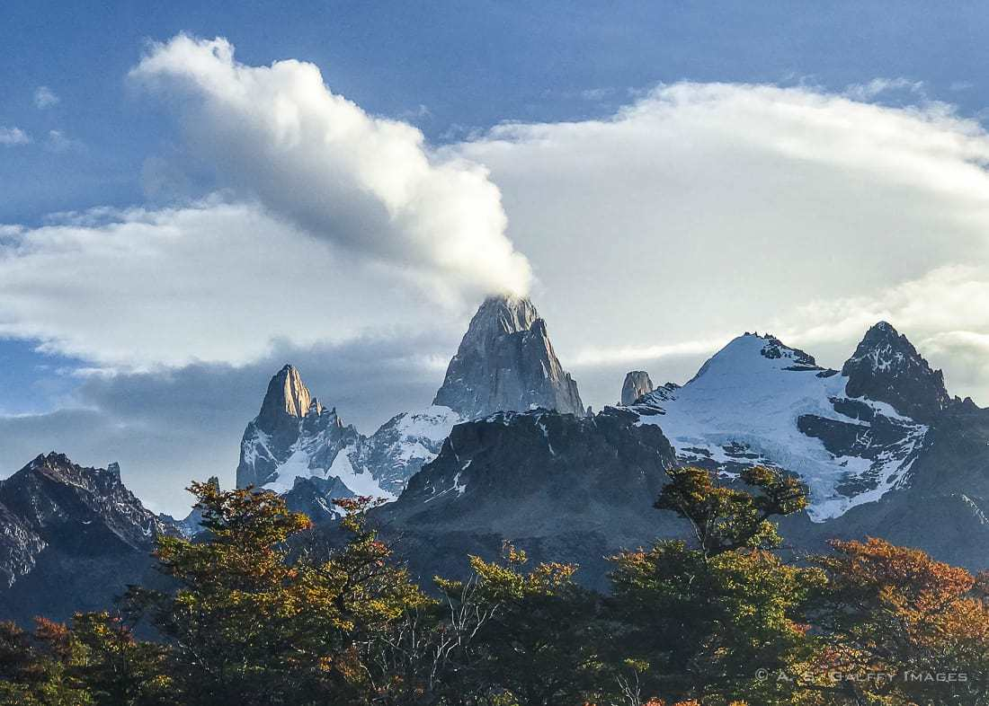 View of Mt Fitz Roy