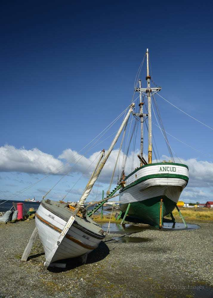 the Ancud ship