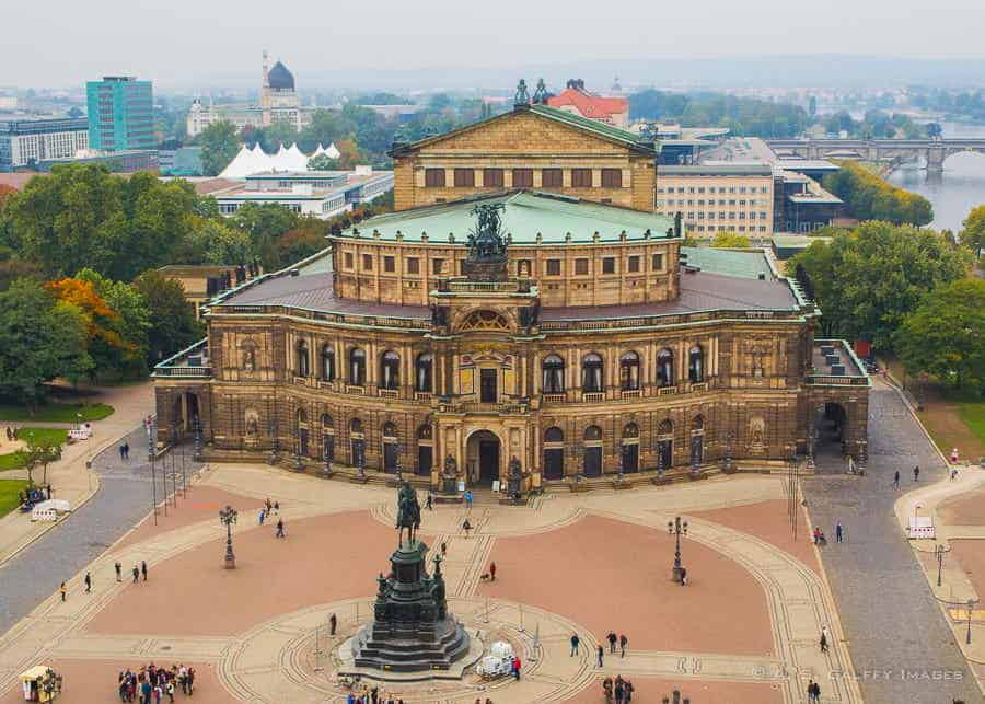 View of the Dresden Opera House - Things to do in Dresden