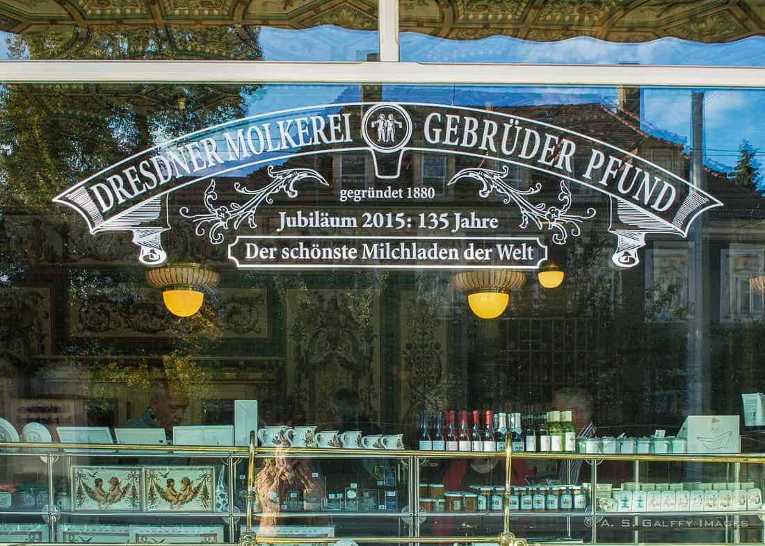 Pfunds Molkerei in Neustadt Dresden