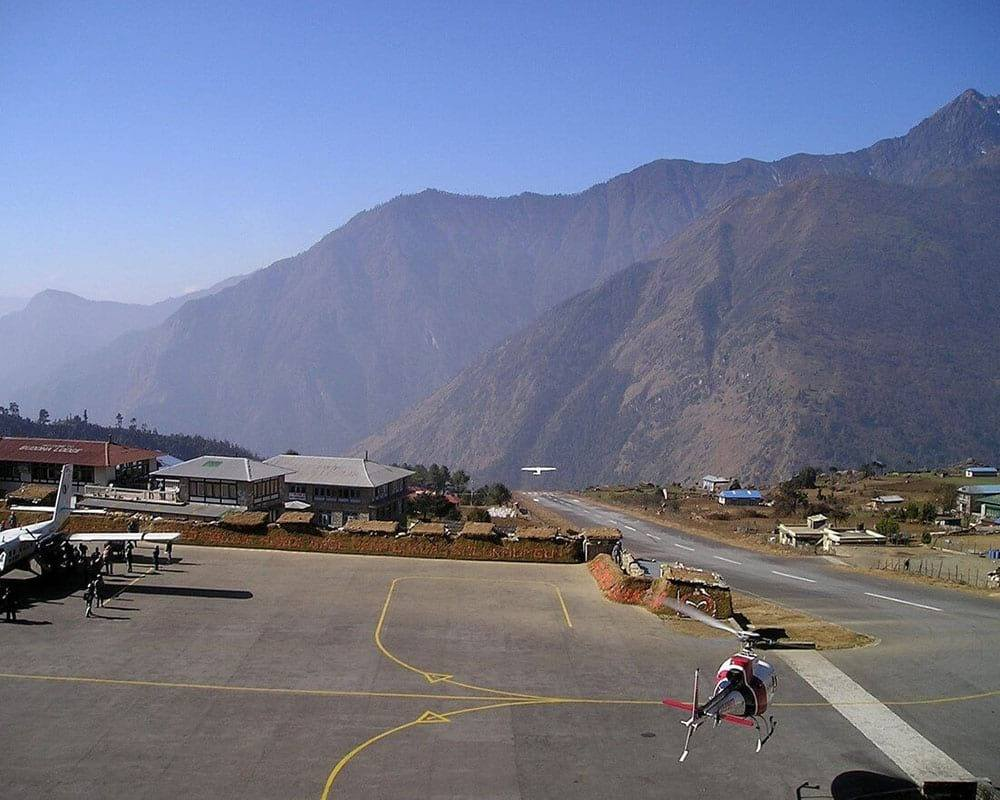 airport at everest base camp trek