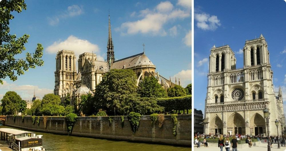 Notre Dame Cathedral 3 day Paris itinerary