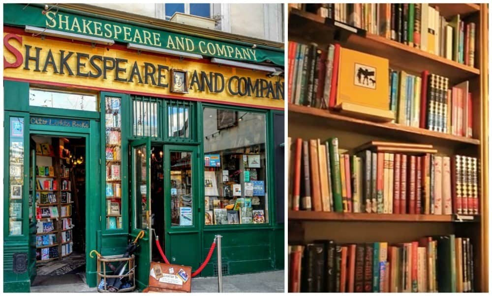 Shakespeare and Company 3 day Paris itinerary