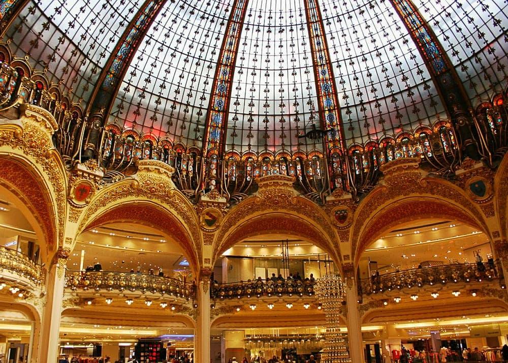 3 days in Paris – Galeries Lafayette