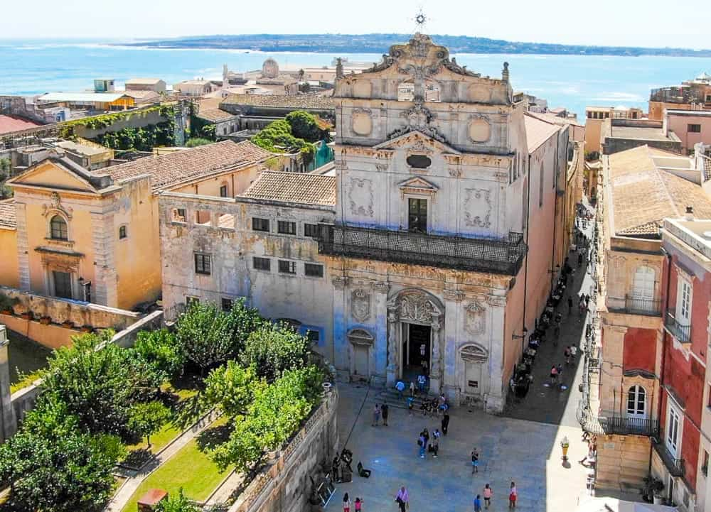 The church of Santa Lucia on Ortigia Island