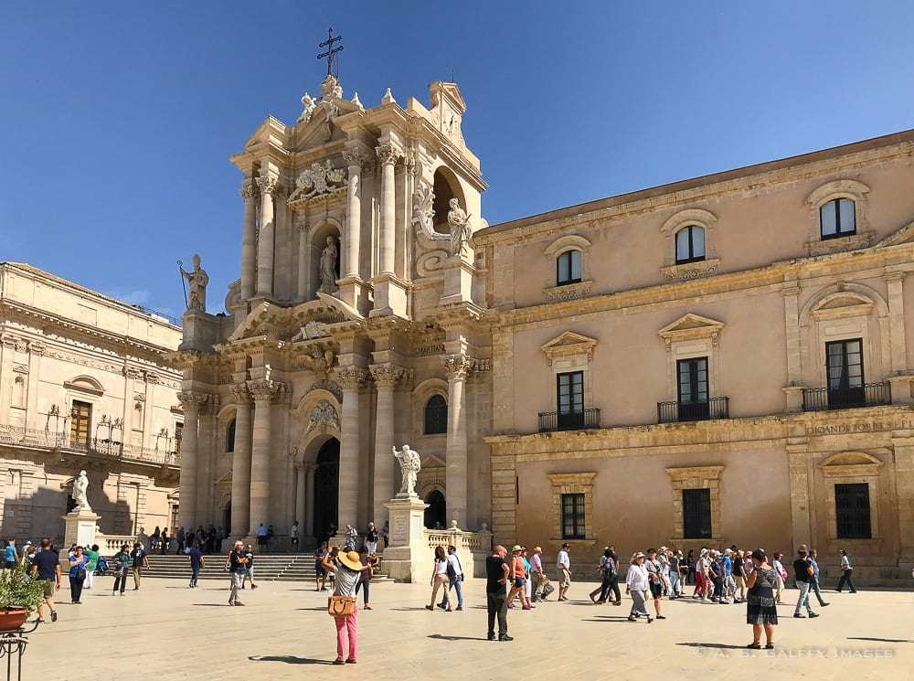 Siracusa - amazing towns in Sicily
