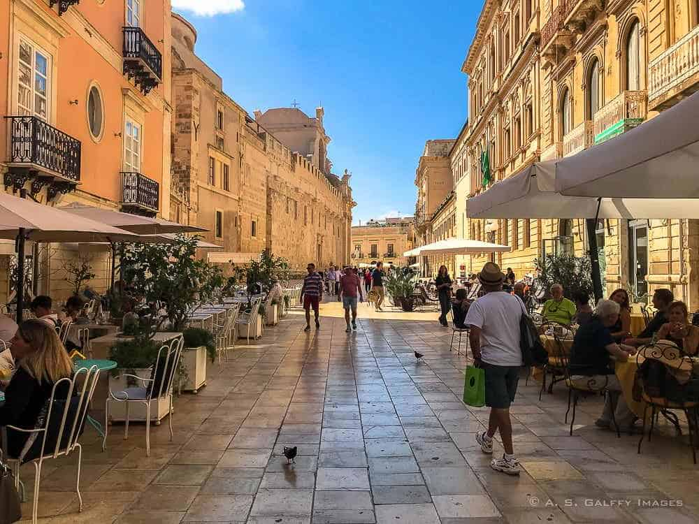 Historic center of Siracusa, Sicily