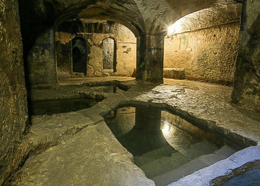 Jewish Baths on Ortigia Island