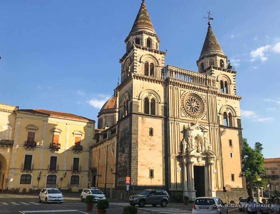 Acireale - towns in Sicily