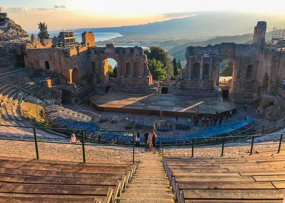 The Greek Theater in Taormina