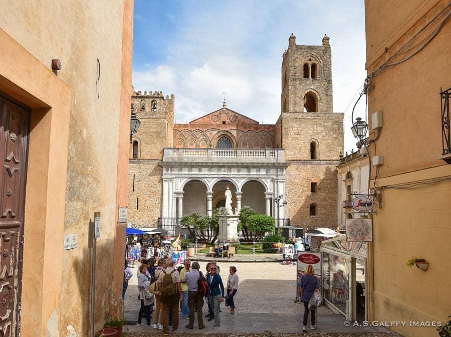 Monreale Cathedral - top towns in Sicily